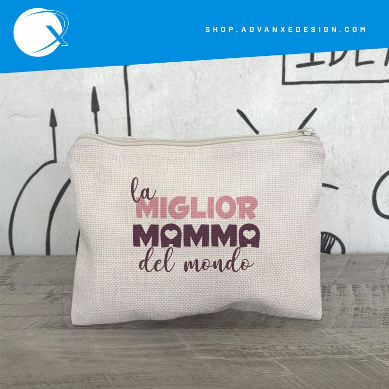 Pochette la Miglior Mamma - idea regalo festa della mamma