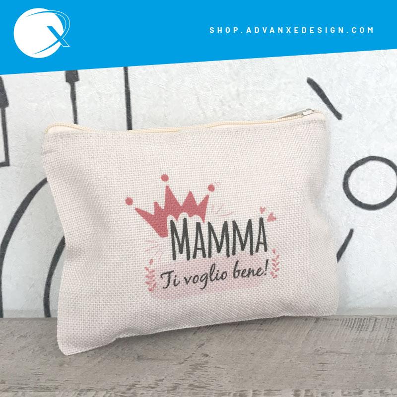 Pochette Mamma ti voglio bene - idea regalo festa della mamma