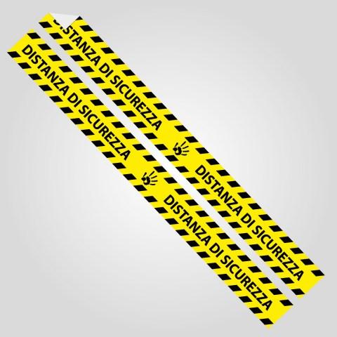 Srisce-distanza-giallo
