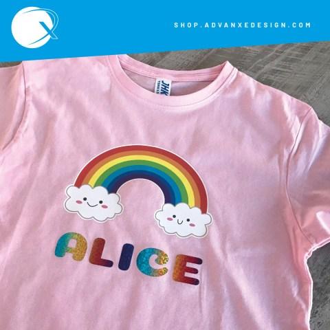 maglietta-arcobaleno-rosa