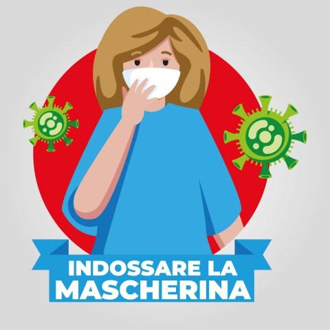mascherina-woman