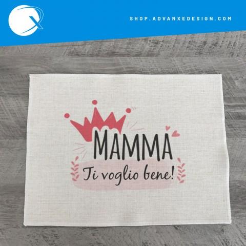 tovaglietta americana festa della mamma - ti voglio bene mamma