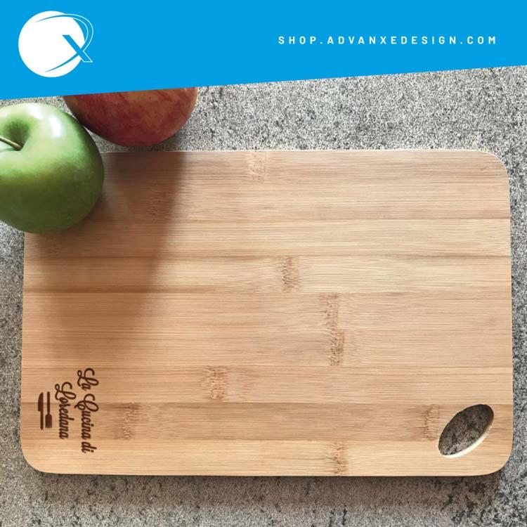 Tagliere in bambu - la cucina di