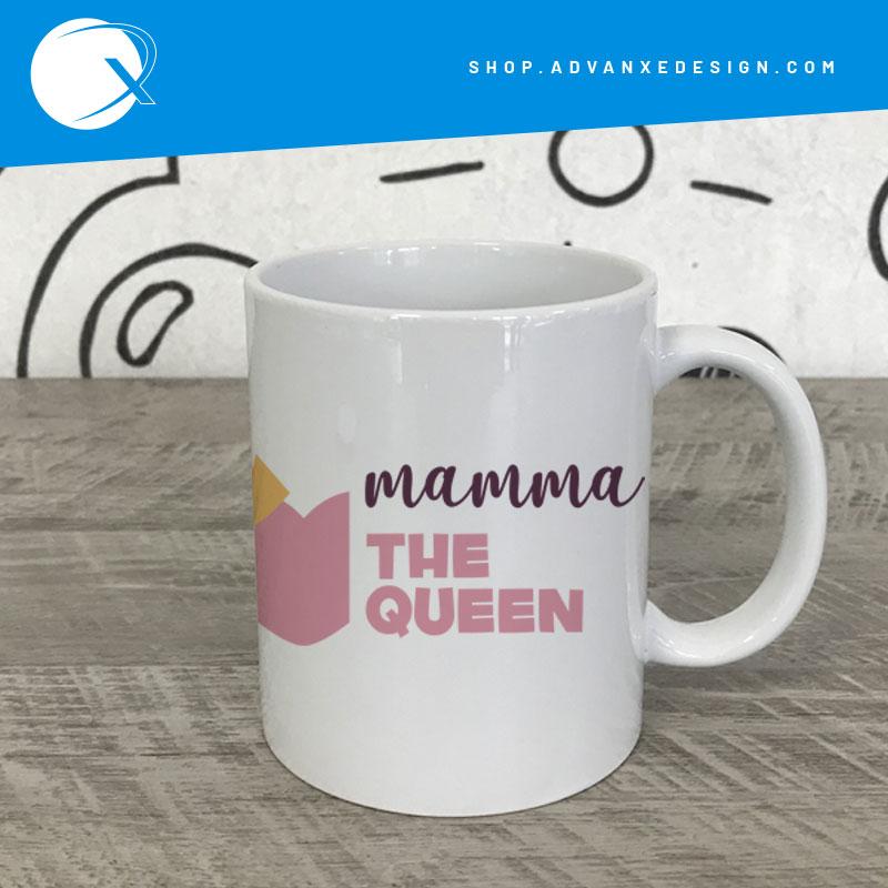 Tazza personalizzata The Queen - Mug festa della mamma