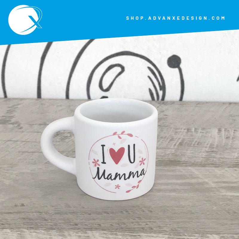Tazzina personalizzata I love You Mamma - Mug festa della mamma