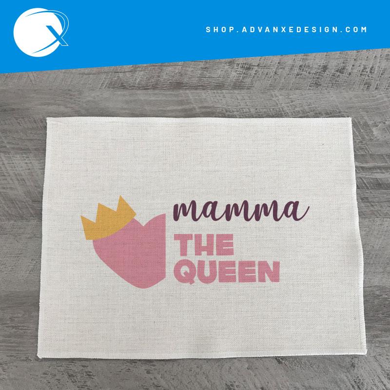 tovaglietta americana festa della mamma the queen
