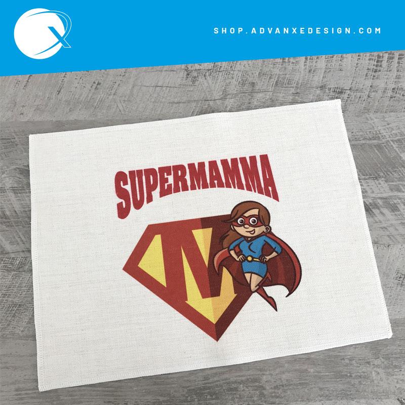 Tovaglietta americana festa della mamma - Supermamma